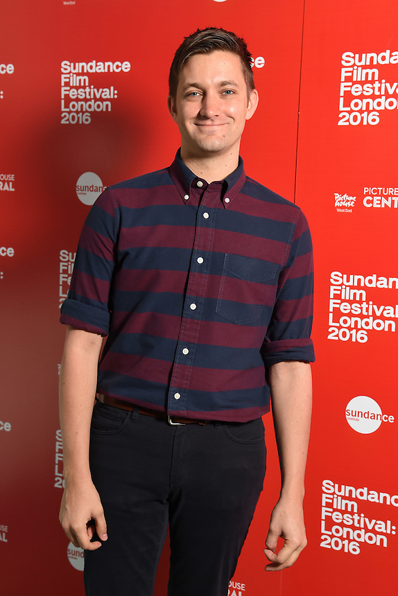 """director, Chris Kelly<br /> arrives for the """"Other People"""" screening as part of the Sundance Film Festival: London 2016 at the Picturehouse Central, London.<br /> <br /> <br /> ©Ash Knotek  D3127  03/06/2016"""