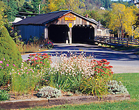 Pulp Mill Covered Bridge, Middlebury, Vermont   Green Mountains