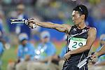 Shohei Iwamoto (JPN), <br /> AUGUST 20, 2016 - Modern Pentathlon : <br /> Men's Combined Event at Deodoro Aquatics Centre<br /> during the Rio 2016 Olympic Games in Rio de Janeiro, Brazil. <br /> (Photo by Yusuke Nkanishi/AFLO SPORT)