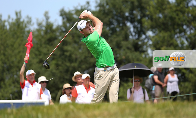 Maximilian Kieffer (GER) posted a 65 during Round Three of the 2015 Alstom Open de France, played at Le Golf National, Saint-Quentin-En-Yvelines, Paris, France. /04/07/2015/. Picture: Golffile | David Lloyd<br /> <br /> All photos usage must carry mandatory copyright credit (&copy; Golffile | David Lloyd)