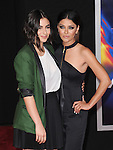 Alanna Masterson and Jessica Szohr attends The Dreamworks Pictures' L.A. premiere of Need for Speed held at The TCL Chinese Theater in Hollywood, California on March 06,2014                                                                               © 2014 Hollywood Press Agency