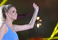 11 June 2017 - Nashville, Tennessee - Kelsea Ballerini. 2017 CMA Music Festival Nightly Concert held at Nissan Stadium. Photo Credit: Dara-Michelle Farr/AdMedia