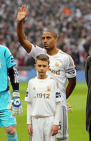 Pictured:  Ashley Williams. Sunday 24 February 2013<br />