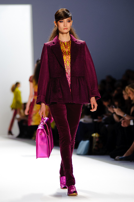 Nanette Lepore: Mercedes Benz Fashion Week. Fall/Winter 2012. Lincoln Center. New York City.