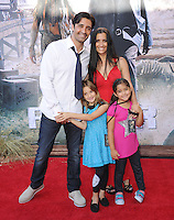 Gilles Marini and family at The Disney World Premiere of The Lone Ranger held at at Disney California Adventure in Anaheim, California on June 22,2021                                                                   Copyright 2013 DVSIL / iPhotoLive.com
