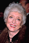 "Celeste Holm attending opening night of ""Noises Off"" at the Brooks Atkinson Theatre, New York City..Nov. 1, 2001.."