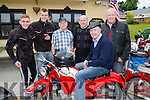 Michael Healy Rae checks out the Honda's at the Killarney honda 50 rally in aghadoe on sinday Tommy Sheehan, Conor Fitzgerald, John O'Connor, tim McAulliffe and Neil Breen