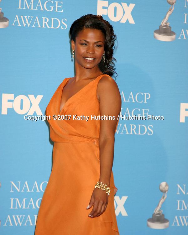 Nia Long.NAACP Image Awards.Shrine Auditorium.Los Angeles, CA.March 1, 2007.©2007 Kathy Hutchins / Hutchins Photo...