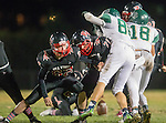 San Pedro, CA 11/27/15 - \pv62\ in action during the CIF Western Division semi-final game between Mira Costa and Palos Verdes.  Palos Verdes defeated Mira Costa to advance to the Western Division finals.