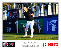 /{prsn}/ during the Hero Pro-Am at the Sky Sports British Masters, Walton Heath Golf Club, Surrey, England. 7-10-2018.<br /> Picture Fran Caffrey / Golffile.ie<br /> <br /> All photo usage must carry mandatory copyright credit (© Golffile | Fran Caffrey)