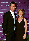Actor James Denton and his wife, Erin, arrive at the Embassy of the Republic of Macedonia in Washington, D.C. for the Bloomberg News party following the annual White House Correspondents Association (WHCA) dinner on April 29, 2006..Credit: Ron Sachs / CNP.(RESTRICTION: No New York Metro or other Newspapers within a 75 mile radius of New York City)