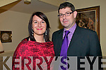 Attending the Newtownsandes Creamery Social held at the Listowel Arms Hotel on Friday night last were Carmel & Seamus Curran.