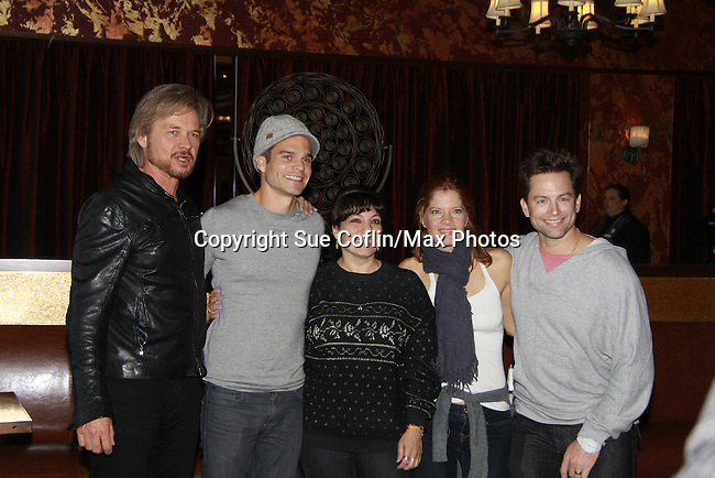 "Drama Brunch - The Young & The Restless stars Nichols - Rikaart - Stafford - Muhney and fans came for the fans with a brunch and photos during the Soap Opera Festivals Weekend - ""All About The Drama"" on March 25, 2012 at Bally's Atlantic City, Atlantic City, New Jersey.  (Photo by Sue Coflin/Max Photos)"