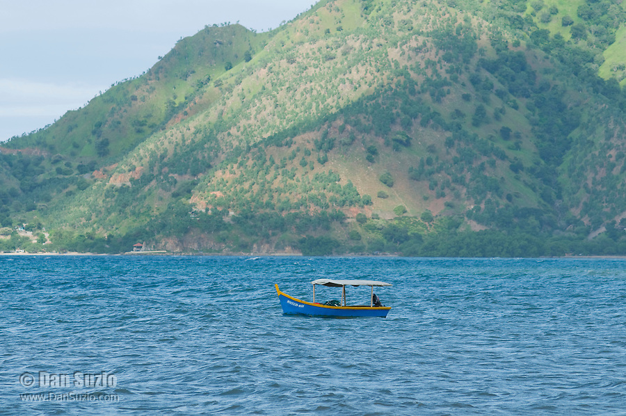 Fishing boat at Dili, Timor-Leste (East Timor)