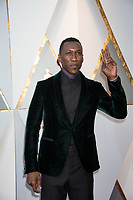 Mahershala Ali arrives on the red carpet of The 90th Oscars&reg; at the Dolby&reg; Theatre in Hollywood, CA on Sunday, March 4, 2018.<br /> *Editorial Use Only*<br /> CAP/PLF/AMPAS<br /> Supplied by Capital Pictures