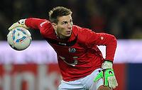 FUSSBALL   1. BUNDESLIGA   SAISON 2011/2012   23. SPIELTAG Borussia Dortmund - Hannover 96                        26.02.2012 Torwart Ron Robert Zieler (Hannover 96)