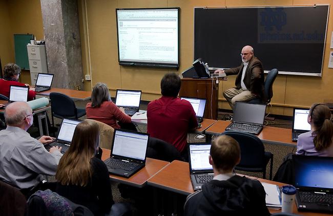 Feb. 25, 2011 CRRA workshop...Photo by Matt Cashore/University of Notre Dame