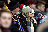 Burnley fans watch anxiously as their side heads towards a bruising 1 - 5 home defeat<br /> <br /> Photographer Rich Linley/CameraSport<br /> <br /> The Premier League - Burnley v Everton - Wednesday 26th December 2018 - Turf Moor - Burnley<br /> <br /> World Copyright &copy; 2018 CameraSport. All rights reserved. 43 Linden Ave. Countesthorpe. Leicester. England. LE8 5PG - Tel: +44 (0) 116 277 4147 - admin@camerasport.com - www.camerasport.com