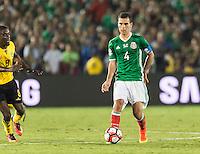 Pasadena, CA - Thursday June 09, 2016: Rafael Marquez during a Copa America Centenario Group C match between Mexico (MEX) and Jamaica (JAM) at Rose Bowl Stadium.