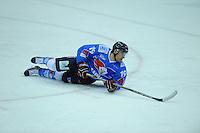 IJSHOCKEY: HEERENVEEN; 20-12-2014, IJsstadion Thialf, UNIS Flyers - Eindhoven Kemphanen 201214, uitslag 7-0, Marco Postma (#19), ©foto Martin de Jong