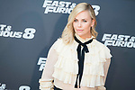 "Charlize Theron during the presentation of the film ""Fast & Furious 8"" at Hotel Villa Magna in Madrid, April 06, 2017. Spain.<br /> (ALTERPHOTOS/BorjaB.Hojas)"