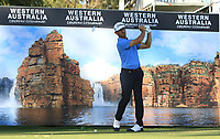 Wade Ormsby (AUS) in action on the 12th during Round 2 of the ISPS Handa World Super 6 Perth at Lake Karrinyup Country Club on the Friday 9th February 2018.<br /> Picture:  Thos Caffrey / www.golffile.ie<br /> <br /> All photo usage must carry mandatory copyright credit (&copy; Golffile | Thos Caffrey)