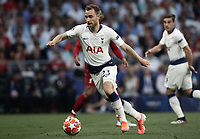 Tottenham's Christian Eriksen in action during the UEFA Champions League final football match between Tottenham Hotspur and Liverpool at Madrid's Wanda Metropolitano Stadium, Spain, June 1, 2019. Liverpool won 2-0.<br /> UPDATE IMAGES PRESS/Isabella Bonotto