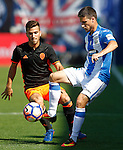 CD Leganes' Omar Ramos (r) and Valencia CF's Jose Luis Gaya during La Liga match. September 25,2016. (ALTERPHOTOS/Acero)
