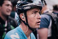 Carlos Betancur (COL/Movistar) after finishing<br /> <br /> stage 20: Susa - Cervinia (214km)<br /> 101th Giro d'Italia 2018