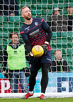 Bolton Wanderers' Ben Alnwick during the pre-match warm-up <br /> <br /> Photographer David Shipman/CameraSport<br /> <br /> The EFL Sky Bet Championship - Norwich City v Bolton Wanderers - Saturday 8th December 2018 - Carrow Road - Norwich<br /> <br /> World Copyright &copy; 2018 CameraSport. All rights reserved. 43 Linden Ave. Countesthorpe. Leicester. England. LE8 5PG - Tel: +44 (0) 116 277 4147 - admin@camerasport.com - www.camerasport.com