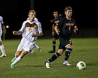 The Winthrop University Eagles lose 2-1 in a Big South contest against the Campbell University Camels.  Scooter Oliver (7), Max Hasenstab (18)