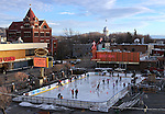 The Arlington Square Ice Rink in downtown Carson City, Nev., on Thursday, Feb. 9, 2012..Photo by Cathleen Allison