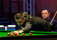 27th February 2020; Waterfront, Southport, Merseyside, England; World Snooker Championship, Coral Players Championship; Mark Selby (ENG) at the table during his quarter-final match against Stephen Maguire (SCO)