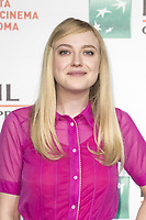 Dakota Fanning attends the 'Please Stand By' photocall during the 12th Rome Film Fest at Auditorium Parco Della Musica on October 31, 2017 in Rome, Italy. Credit: Daziram/DPI/MediaPunch ***FOR USA ONLY***