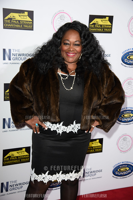 LONDON, UK. September 22, 2018: Kym Mazelle at the Paul Strank Charitable Trust Annual Gala at the Bank of England Club, London.<br /> Picture: Steve Vas/Featureflash