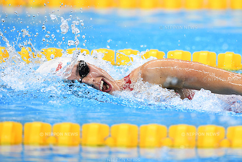 Aurelie Rivard (CAN), <br /> SEPTEMBER 15, 2016 - Swimming : <br /> Women's 400m Freestyle S10 Final <br /> at Olympic Aquatics Stadium<br /> during the Rio 2016 Paralympic Games in Rio de Janeiro, Brazil.<br /> (Photo by AFLO SPORT)