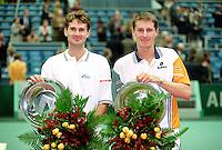 1997, Rotterdam, ABNAMROWTT, Winnaars dubbel Jacco Eltingh en Paul Haarhuis (R)