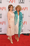 CULVER CITY, CA. - June 10: AFI Board Members Amy Pascal (L) and Anne Sweeney  arrive at the 38th Annual Lifetime Achievement Award Honoring Mike Nichols held at Sony Pictures Studios on June 10, 2010 in Culver City, California.