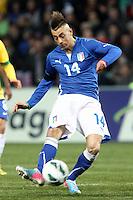 "Stephan El Shaarawy Italia.Ginevra 21/03/2013 Stadio ""De Geneve"".Football Calcio Amichevole Internazionale.Brasile vs Italia / Brazil Vs Italy .Foto Insidefoto Paolo Nucci."