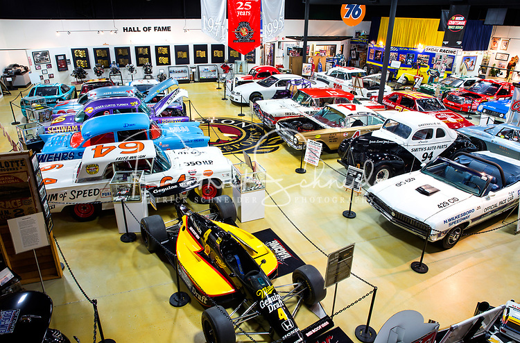 Photography of the North Carolina Auto Racing Hall of Fame in Mooresville, North Carolina.<br /> <br /> Charlotte Photographer - PatrickShcneiderPhoto.com