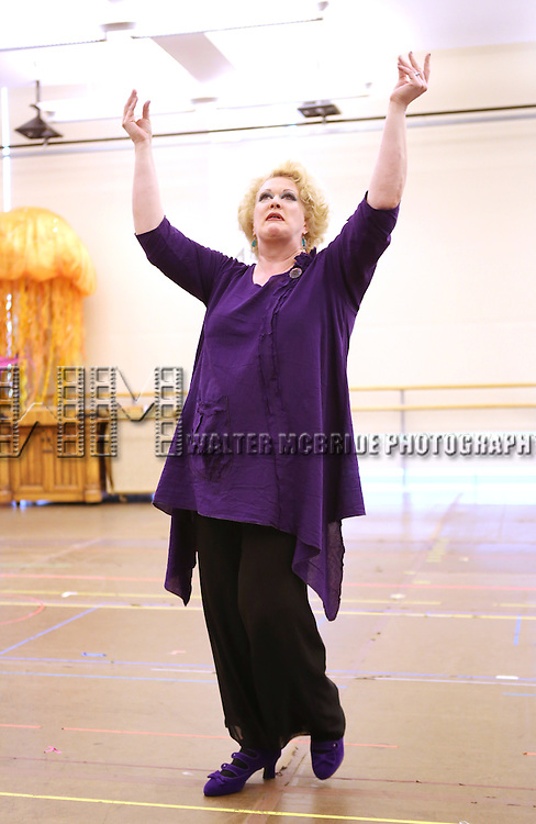 Liz McCartney  performing at  the In-Studio Press Preview for the Paper Mill Playhouse Production of Disney's 'The Little Mermaid' at the New 42nd Street Studios in New York City on 5/9/2013..