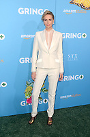 "LOS ANGELES - MAR 6:  Charlize Theron at the ""Gringo"" Premiere at Regal LA Live on March 6, 2018 in Los Angeles, CA"