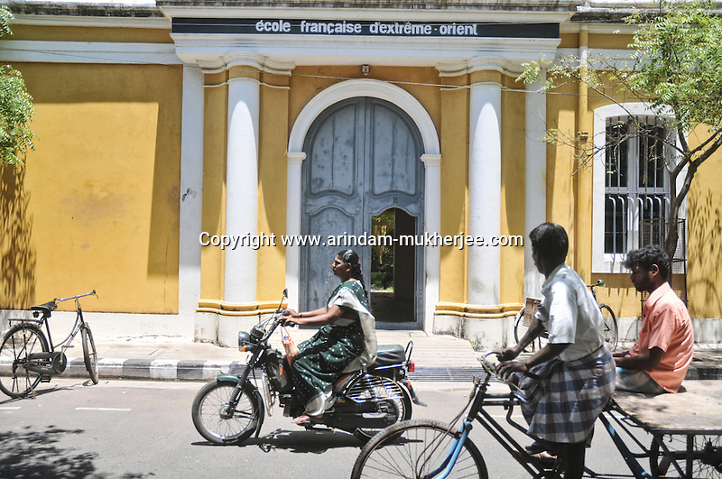E'cole Francaise D'extreme - Orient in Pondicherry. Arindam Mukherjee