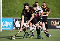 Action during the mens final, Capital v North Harbour. National Hockey League Finals Day action, National Hockey Stadium, Wellington, New Zealand. Sunday 23 September 2018. Photo: Simon Watts/www.bwmedia.co.nz/Hockey NZ
