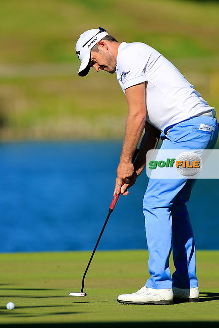 Stuart Manley (WAL) during the second round of the Lyoness Open powered by Organic+ played at Diamond Country Club, Atzenbrugg, Austria. 8-11 June 2017.<br /> 09/06/2017.<br /> Picture: Golffile   Phil Inglis<br /> <br /> <br /> All photo usage must carry mandatory copyright credit (&copy; Golffile   Phil Inglis)