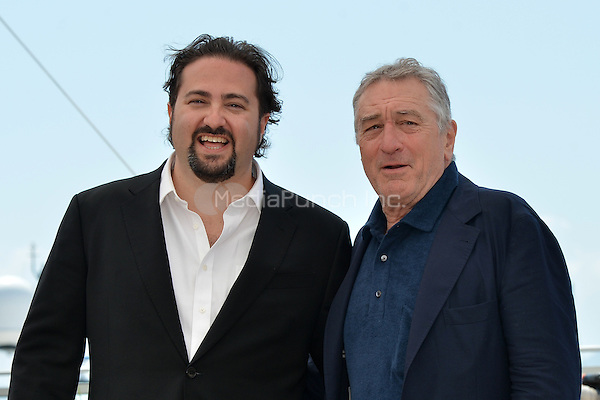 Jonathan Jakubowicz (Director) and Robert de Niro at the Photocall 'Hands of Stone' - 69th Cannes Film Festival on May 16, 2016 in Cannes, France.<br /> CAP/LAF<br /> &copy;Lafitte/Capital Pictures /MediaPunch ***NORTH AND SOUTH AMERICA ONLY***