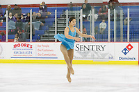 Liberty hosts a Collegiate Figure Skating Competition in LaHaye Ice Center on March 1, 2014. (Photo by Lizzy Benson)