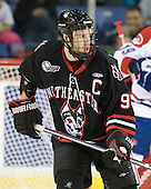 Tyler McNeely (Northeastern - 94) - The visiting Northeastern University Huskies defeated the University of Massachusetts-Lowell River Hawks 3-2 with 14 seconds remaining in overtime on Friday, February 11, 2011, at Tsongas Arena in Lowelll, Massachusetts.