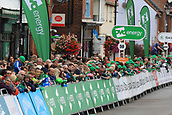 8th September 2017, Newmarket, England; OVO Energy Tour of Britain Cycling; Stage 6, Newmarket to Aldeburgh; Fans wait for the riders to enter the home straight