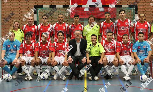2009-10-12 / Futsall / seizoen 2009-2010 / MSC Antwerpen 2009-2010..Foto: mpics